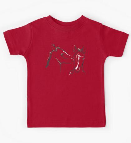 Cute T-shirt - horse - together 6 Kids Tee