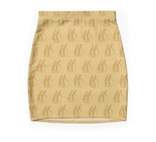 Golden oldies wallpaper Mini Skirt
