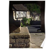 The Street, Castle Combe Poster