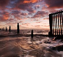 Dawn Line Up  by Ian  Clark