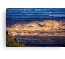 Colours of the Canyon Canvas Print