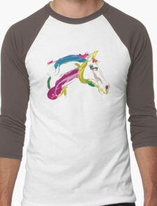 Cool t-shirt  horse Lovely Men's Baseball ¾ T-Shirt