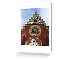 Angles & Angels, Echuca, Vic. Greeting Card