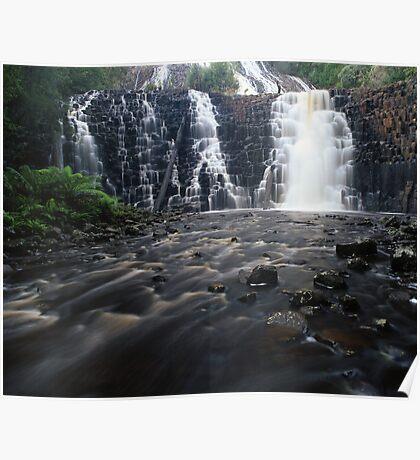"""Dip Falls"" ∞ Mawbanna, Tasmania - Australia Poster"