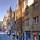 Along the Royal Mile by Christine Smith