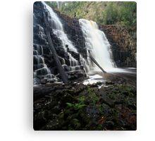 """Dip Falls"" ∞ Mawbanna, Tasmania - Australia Canvas Print"