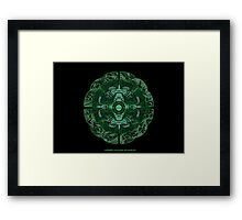 Celtic Wheel of Pan Framed Print