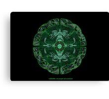 Celtic Wheel of Pan Canvas Print