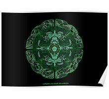 Celtic Wheel of Pan Poster