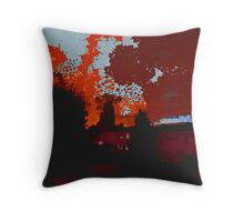 Autumnal Sky  Throw Pillow