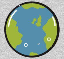 The Earth - Sticker Kids Tee