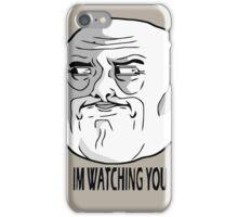 I'M WATCHING YOU iPhone Case/Skin