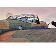 Avro Lancaster - HDR Photographic Print