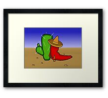 Mexican Chilli Framed Print