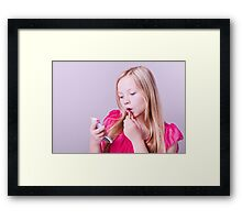 Fashion girl Framed Print