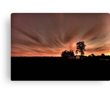 Sunset Glow (1) Canvas Print