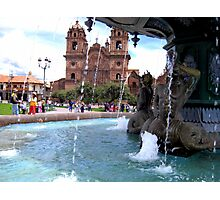 Waters of Cusco Photographic Print