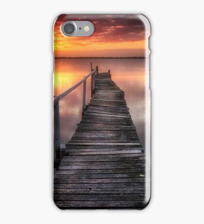 Jetty Sunrise iPhone Case/Skin