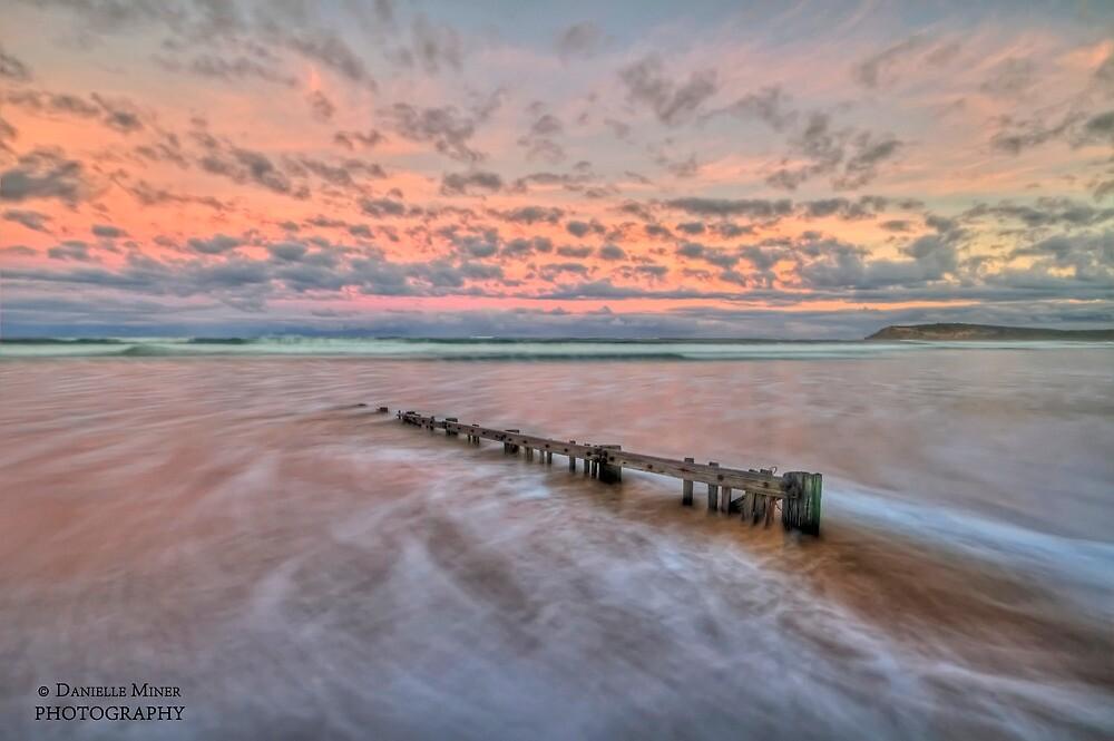 Ocean Grove Beach HDR by Danielle  Miner