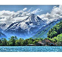 Lake Lucerne. Photographic Print