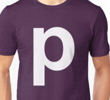 p white  Unisex T-Shirt