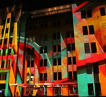 Psychedelic Industrial Museum, Sydney by Michael Matthews