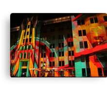 Psychedelic Industrial Museum, Sydney Canvas Print