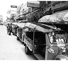 Tuk Tuk Photographic Print