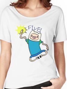 Finn High Five - Part 2 Women's Relaxed Fit T-Shirt