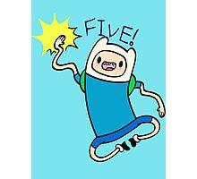 Finn High Five - Part 2 Photographic Print