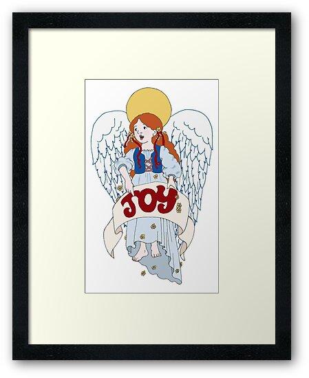 Joyous Angel by redqueenself