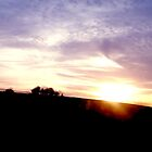 A Sunset Over Stroud III by Don McGowan