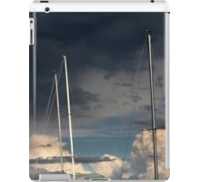 sailing in the cloudy sky iPad Case/Skin