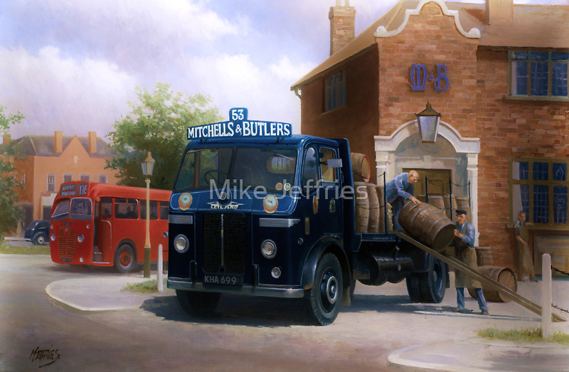 Mitchells and Butlers' Leyland Beaver by Mike Jeffries