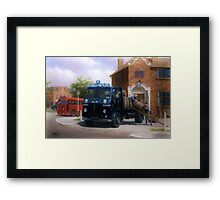 Mitchells and Butlers' Leyland Beaver Framed Print
