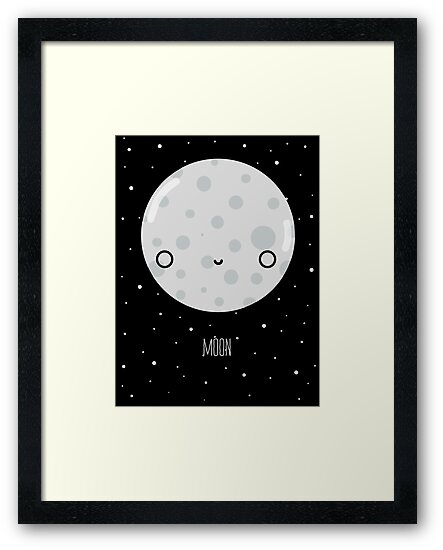 The Moon  by Sarah Crosby