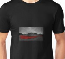 Tower Poppies Red  Unisex T-Shirt