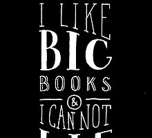 I Like Big Books (Black) by Shannelle  C.