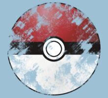 Pokeball vintage version by karlangas