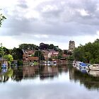 Beccles, River Waveney by Phil Rhodes