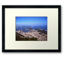 When my baby, goes to Rio Framed Print