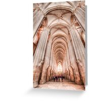 Alcobaça Abbey Greeting Card