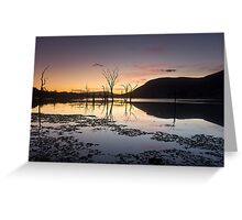 Somerset Rise Greeting Card