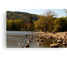 Lake windermere, The Lake District, Cumbria Canvas Print