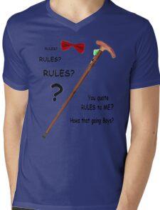 Rules????? Howz that going Mens V-Neck T-Shirt