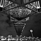 Harbour Bridge. by Warren  Patten