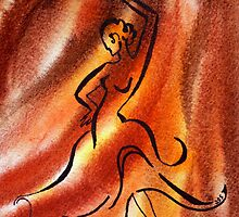 Dancing Fire III by Irina Sztukowski