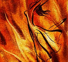 Dancing Fire VI by Irina Sztukowski
