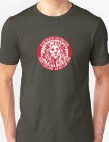 Club Ciclistico Coglioni: Monarch lion (red on white, small) T-Shirt