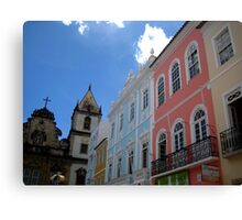 Colorful Salvador Canvas Print